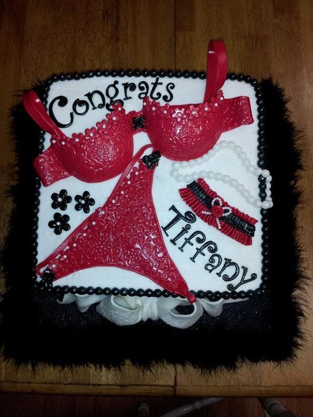 Lingerie Bridal Shower cake