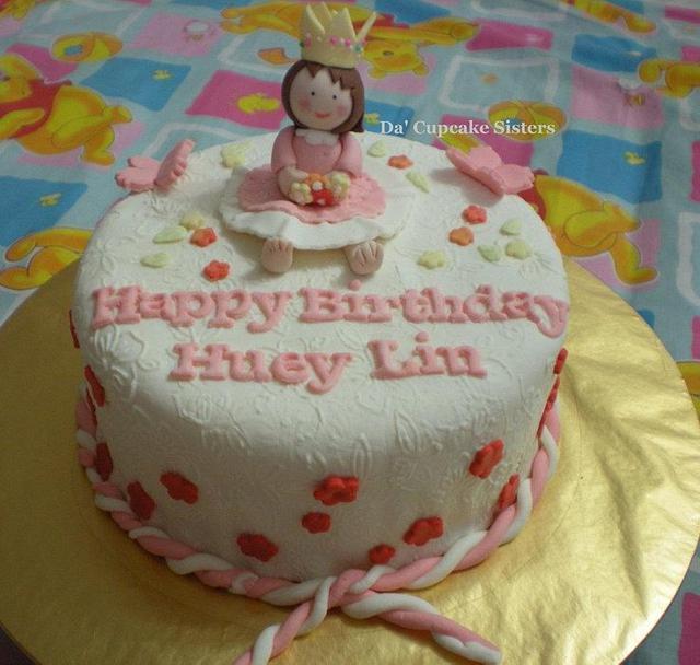 Little Princess Vanilla Butter Cake