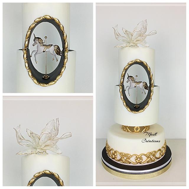 Unicorn cake by Madl Créations