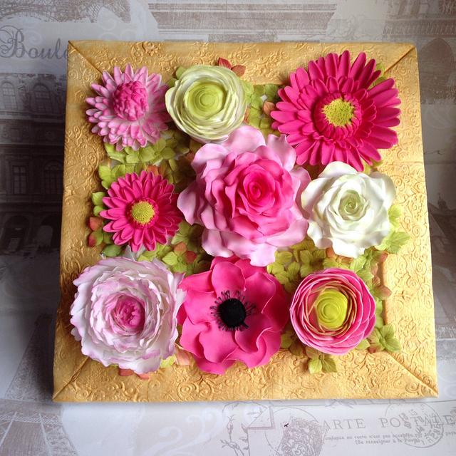 """All things nice collaboration """"floral frame"""""""