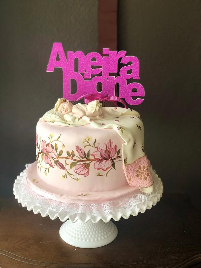 Christening Cake for Andi