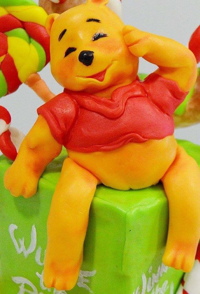 Sweet Winnie Cake #CPCWinnieThePoohCollaboration