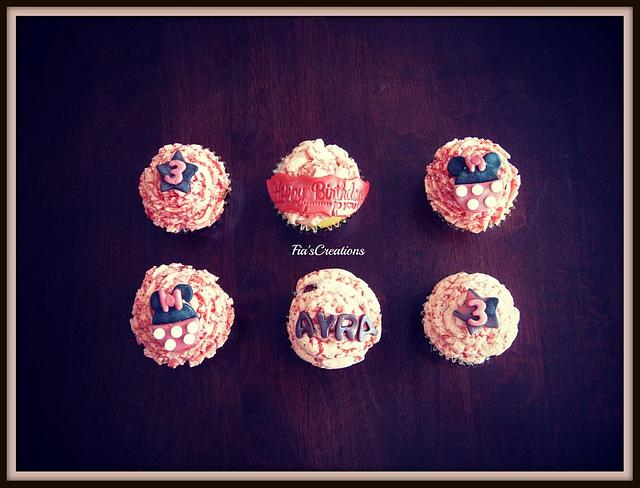 Pink Minnie Mouse Kupcakes