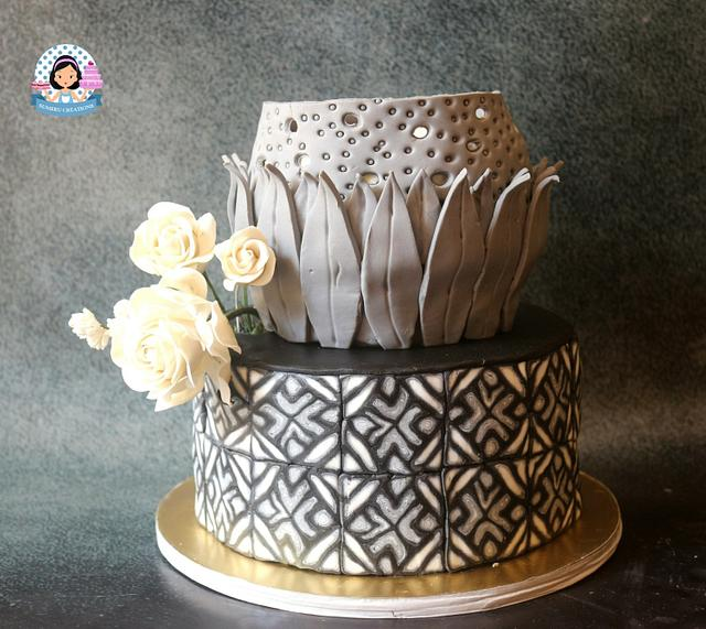 50 cakes of grey collaboration - kelodioscope cake