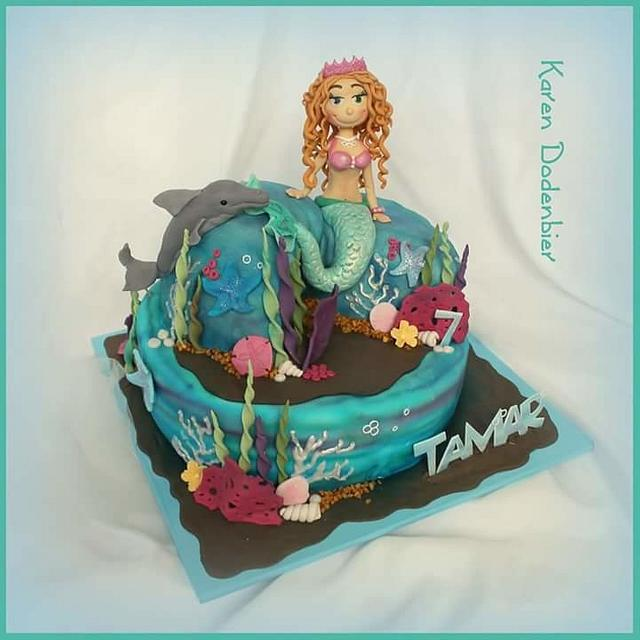 Another mermaid cake!