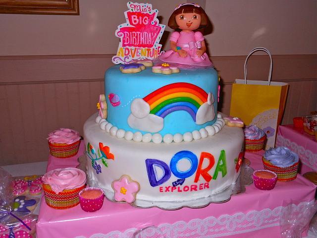Dora's cake!!!!