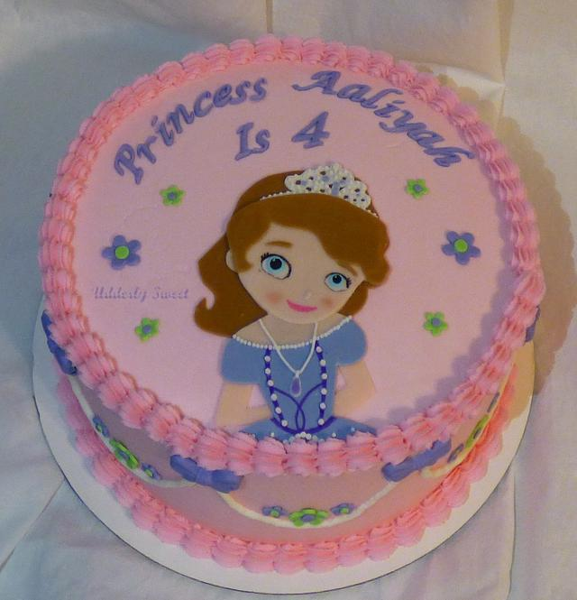 Fantastic Sofia The 1St Birthday Cake Cake By Michelle Cakesdecor Birthday Cards Printable Opercafe Filternl