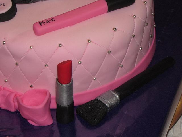 M.A.C. makeup cake