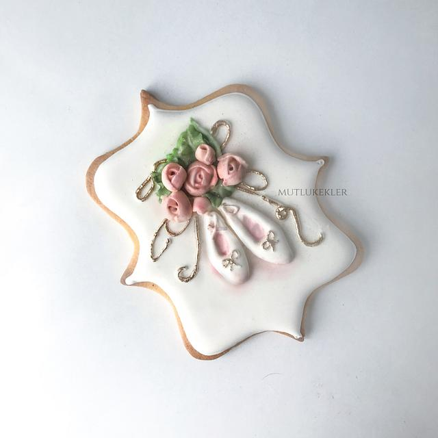 Balette Royal Icing Cookie