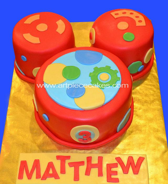Cool Oh Toodles Cake By Art Piece Cakes Cakesdecor Funny Birthday Cards Online Alyptdamsfinfo