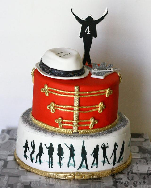 Astounding Michael Jackson Cake Cake By G Sweets Cakesdecor Personalised Birthday Cards Cominlily Jamesorg