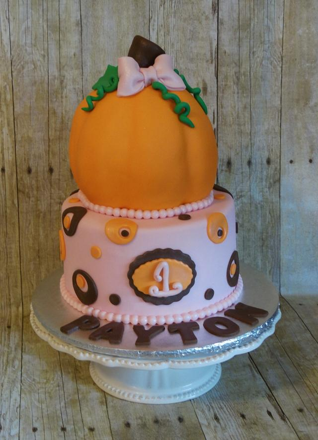 Pretty pink Pumpkin
