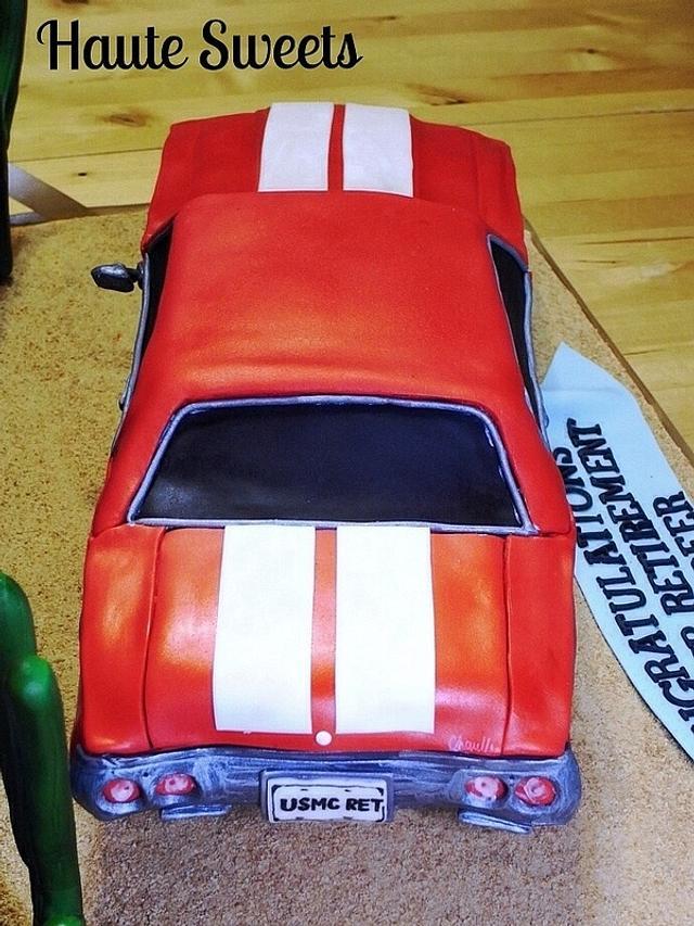 1971 Chevy Chevelle Retirement Cake