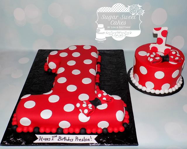 Marvelous Minnie Mouse Number 1 Cake By Sugar Sweet Cakes Cakesdecor Personalised Birthday Cards Veneteletsinfo