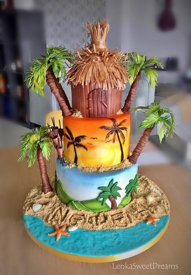 Survivor cake.