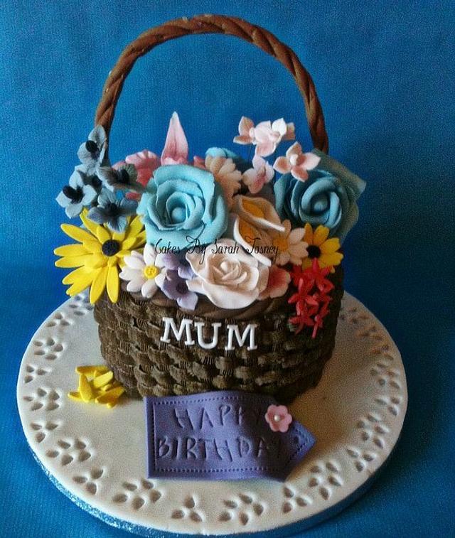 flower basket for lil
