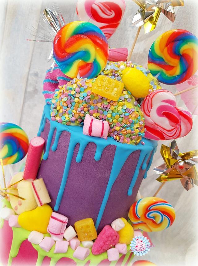 Candy dripcake