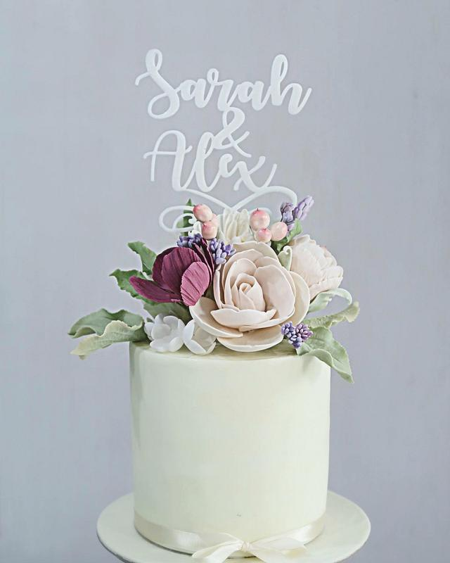 Small Floral Cake