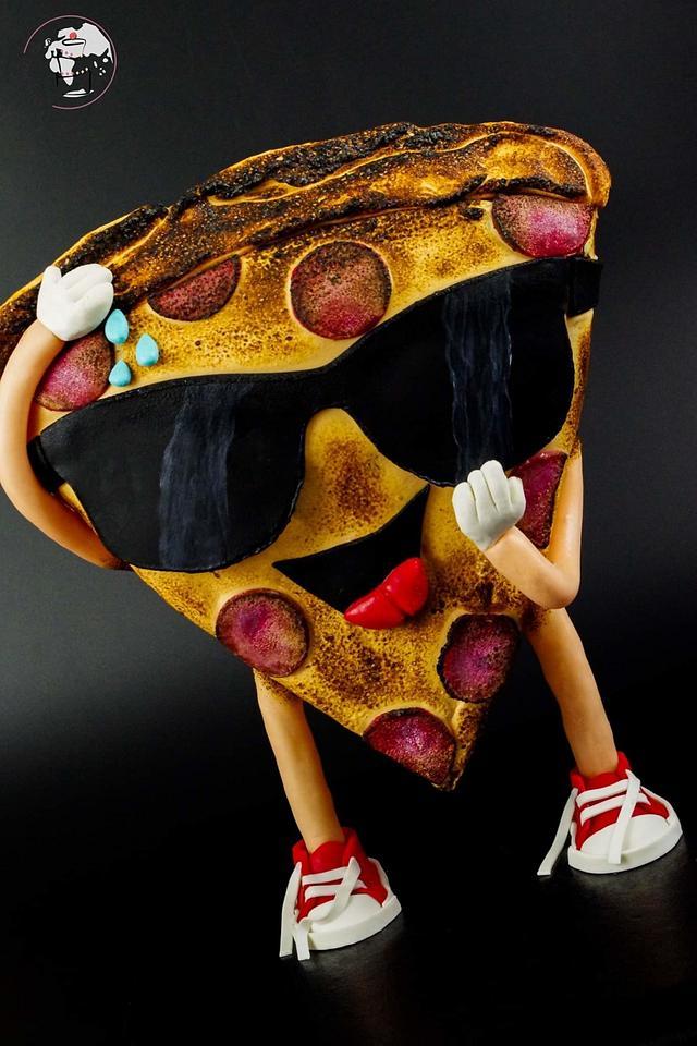 Mr Pizza slice