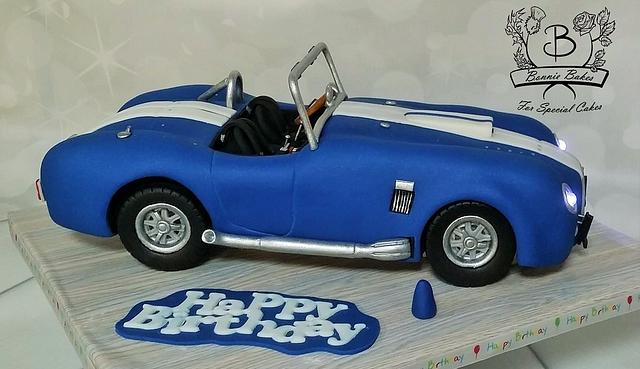 Cobra car cake