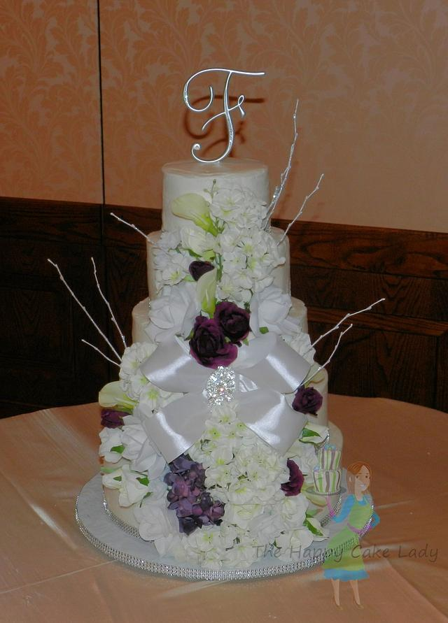 5 tiers of wedded bliss