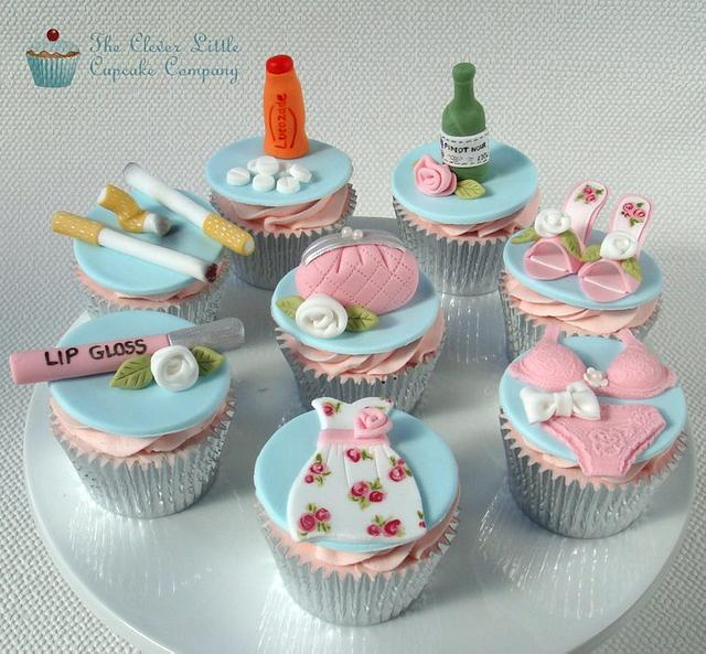 Girl's Night Out Cupcakes