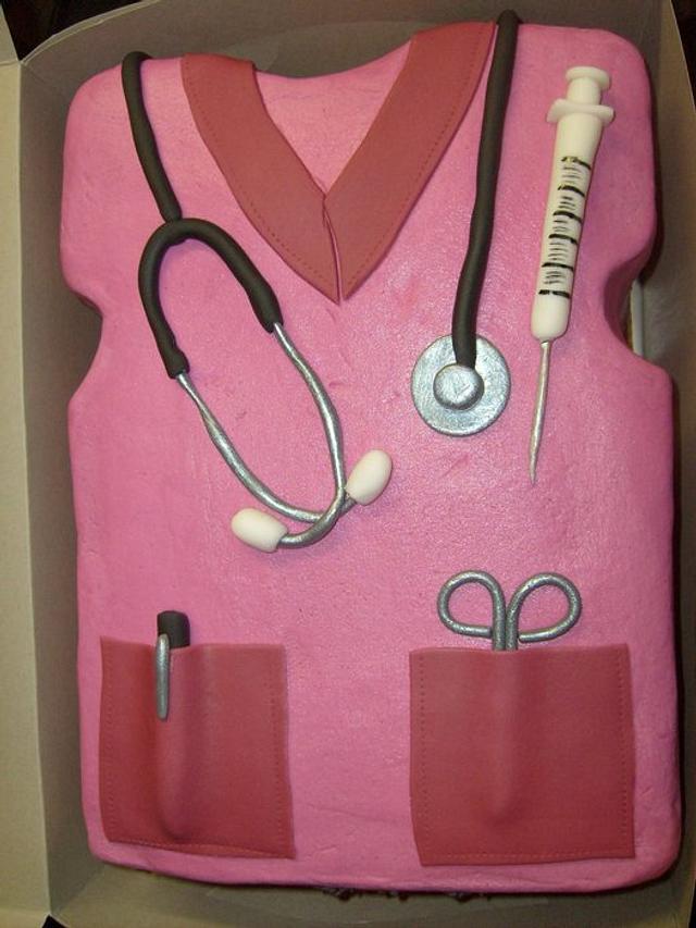 Nurse Bill's Graduation Scrubs