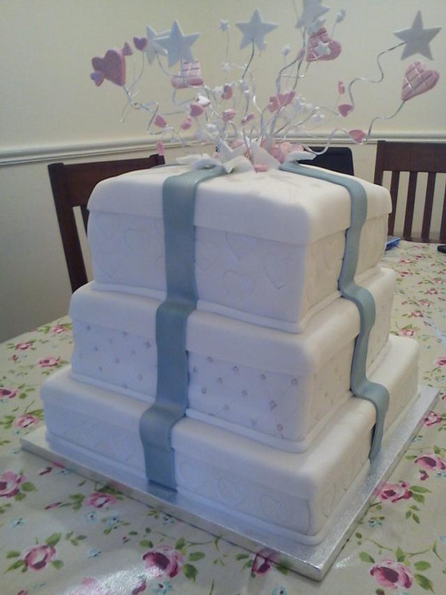 Present Boxes Wedding Cake