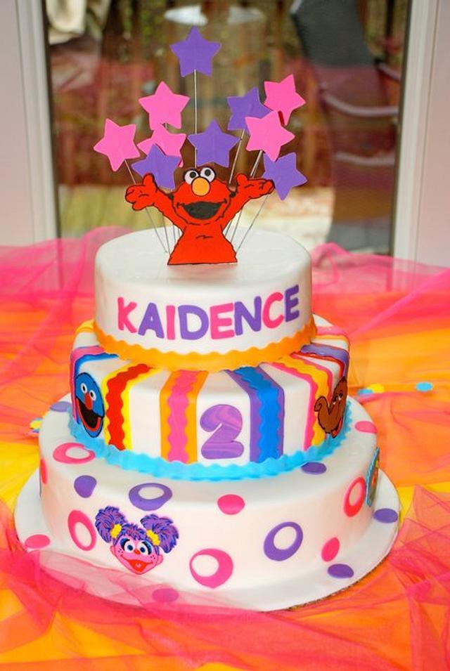 Kaidence's 2nd Birthday Cake