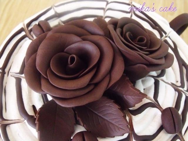 delicious cappuccino cake