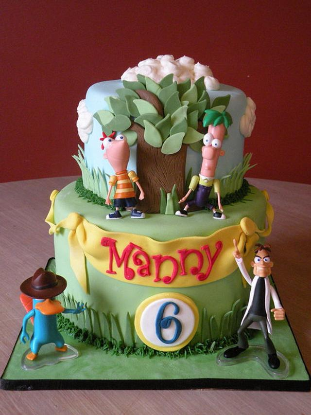 Phineas & Ferb birthday