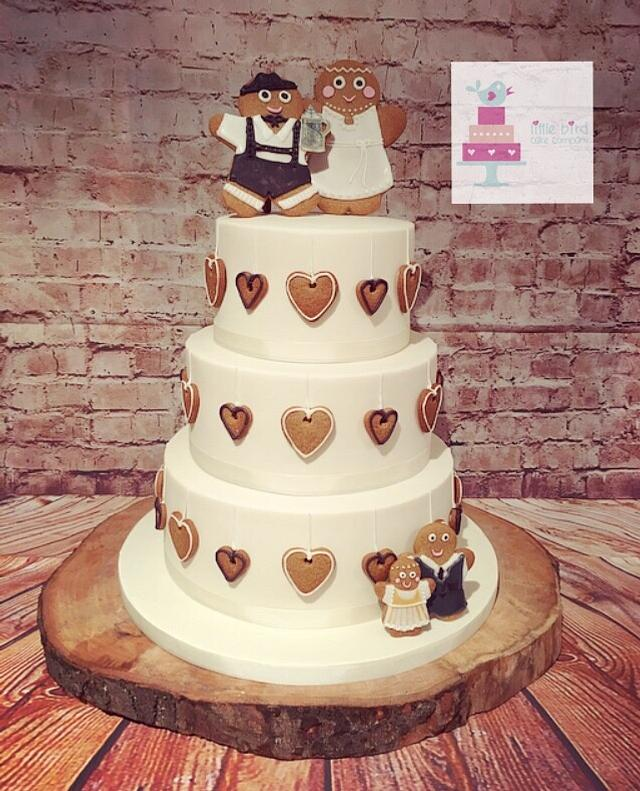 Gingerbread wedding