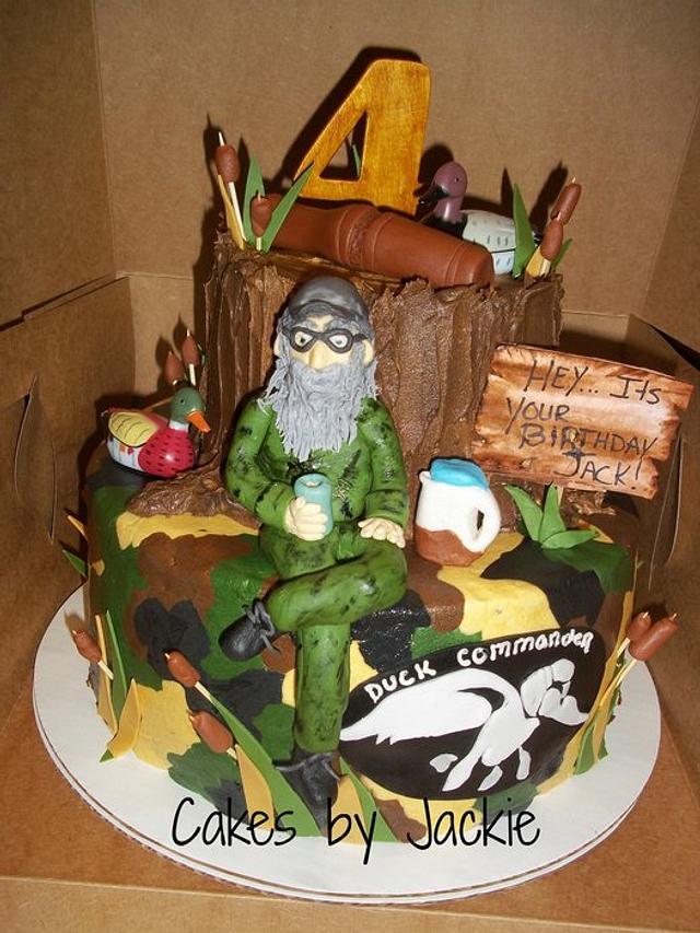 Tremendous Duck Dynasty Cake By Jackie Cakesdecor Personalised Birthday Cards Veneteletsinfo