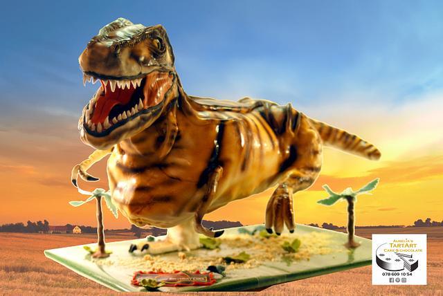 dinosaur birthdaycake