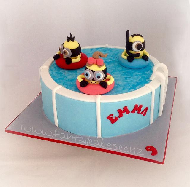 Swimming Minions