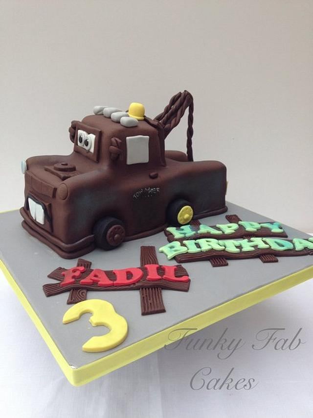 Outstanding Mater Birthday Cake Cake By Funkyfabcakes Cakesdecor Funny Birthday Cards Online Bapapcheapnameinfo