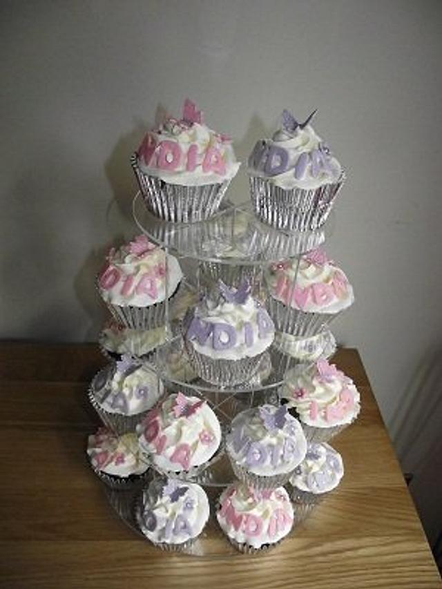 Cupcakes for a little princess