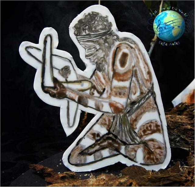 World Celebration of Music  Cake notes. Australian Aboriginal music.