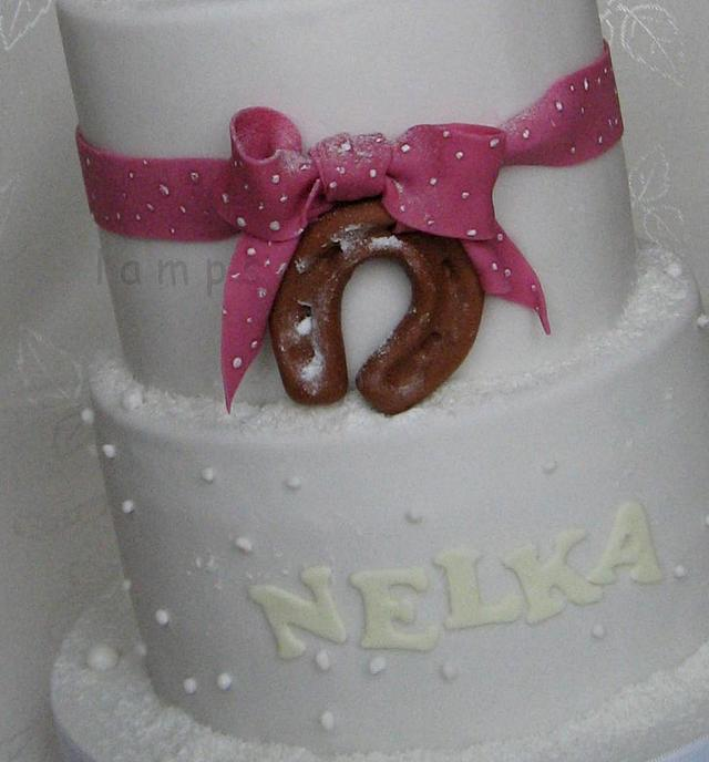 Birthday cake for Nelka