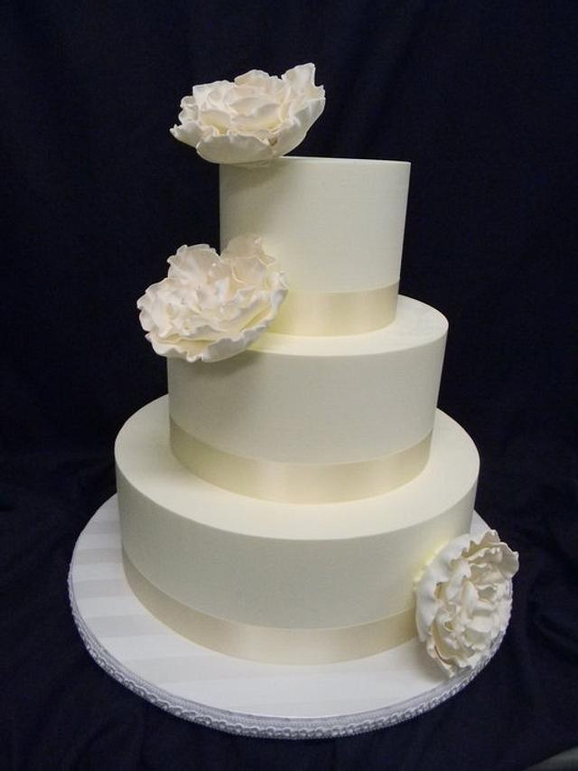 White Whimsical Flowers