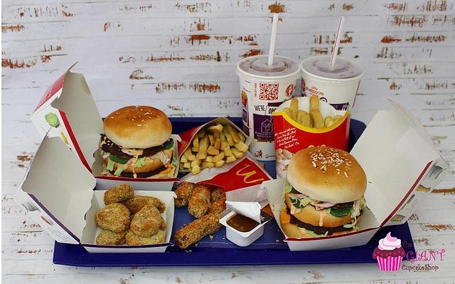 McDonalds Meal Cake
