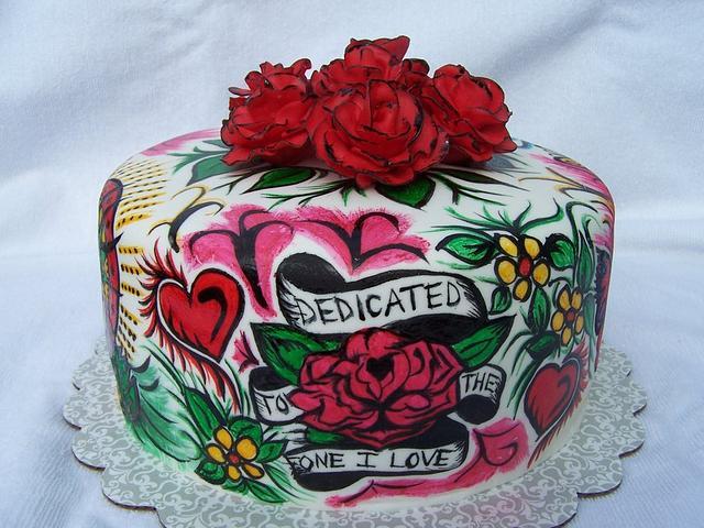 Ed Hardy Cake