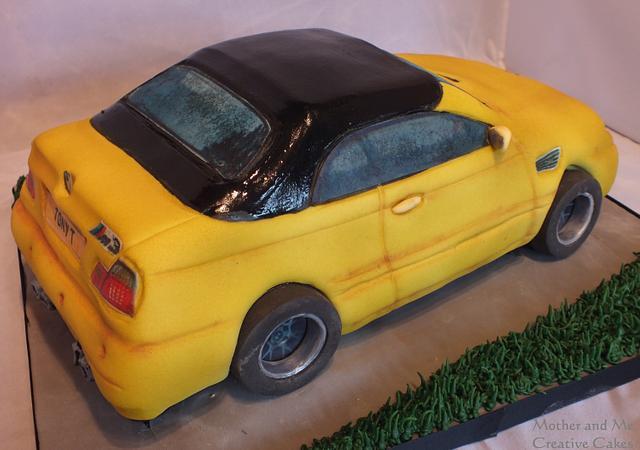 Making of a BMW Cake