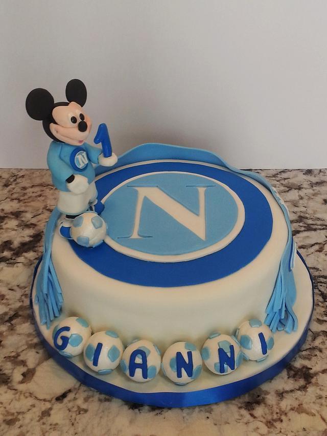 Mickey - 1st. birthday Napoli Soccer Player