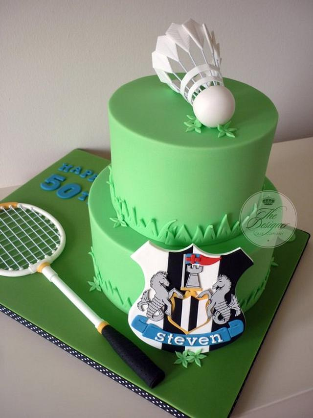 Outstanding Sports Themed Birthday Cake Cake By Isabelle Bambridge Cakesdecor Funny Birthday Cards Online Alyptdamsfinfo