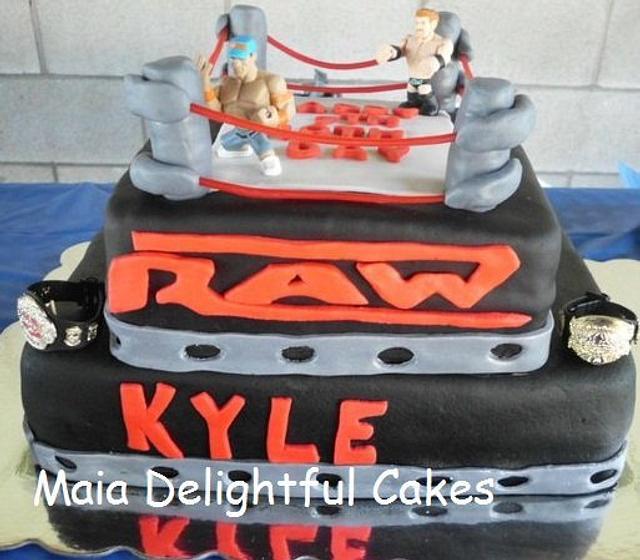 WWE RAW CAKE