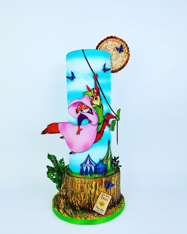 Robin des bois gâteaux