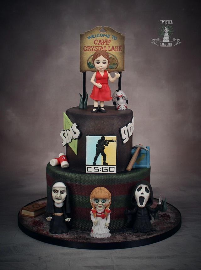 Horror cake
