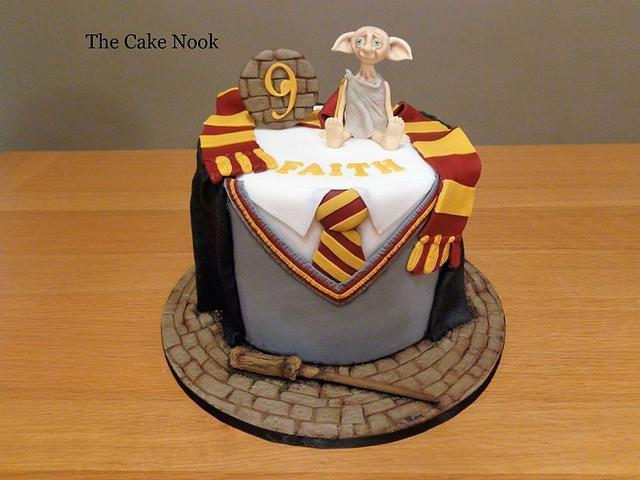 Harry Potter Cake with Dobby.