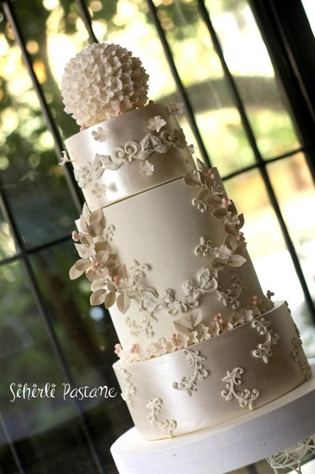Angel Wedding Cake
